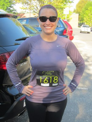 Before completing my first race of my half marathon training