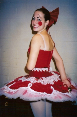 One of my many Nutcracker tutus
