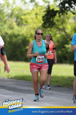 Keeping my focus on the finish line