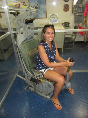 During our tour of the USS Midway