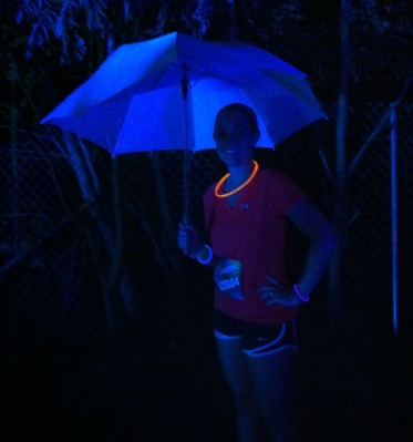 I loved the glow in the dark umbrellas