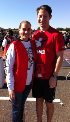 So proud of Preston for running his first Army Ten Miler!