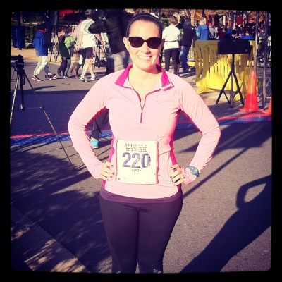 At the Veteran's Day 5K on Sunday