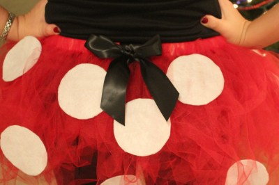 There's even a hidden Mickey on my tutu!