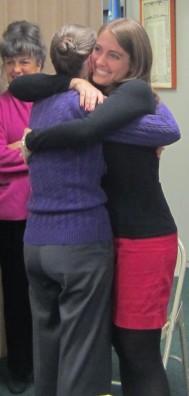 A big birthday hug for Mom