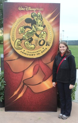 The inaugural 10k was my first runDisney race!