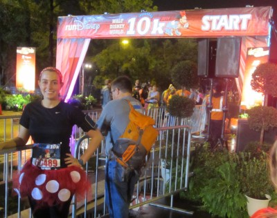 Despite how tired I was, I was ready to get my first runDisney race started!