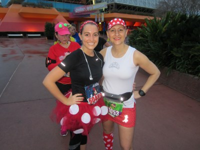 With Kimberly from Maker Mother Marathon Runner