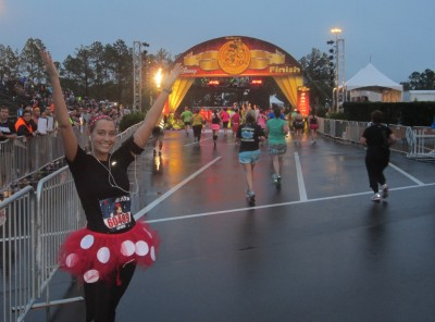 I'm almost done with my first runDisney race!