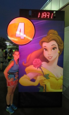 At the Transportation Ticket Center with my favorite Disney princess