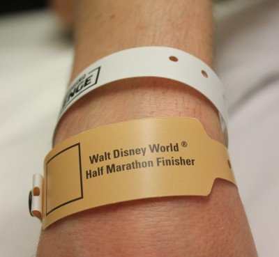 Another Dopey Challenge finisher's wristband to add to the collection