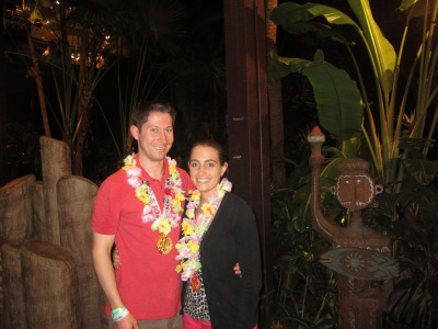 During this trip to 'Ohana we received leis from our server!