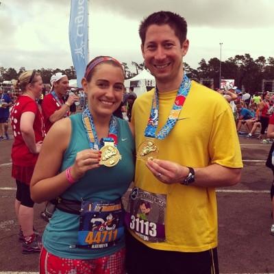After Saturday's Disney World Half Marathon