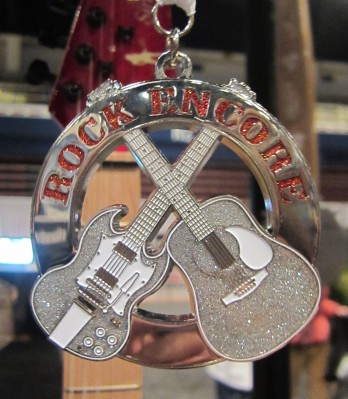 If we run Virginia Beach this year, or any other Rock 'n' Roll race, we'll be eligible to receive the Rock Encore Heavy Medal from Rock 'n' Roll