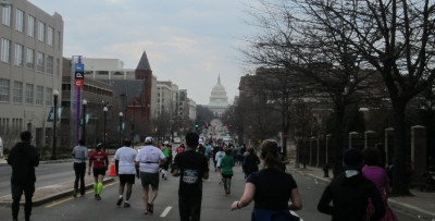 The view during mile 10 while I ran down North Capitol Street