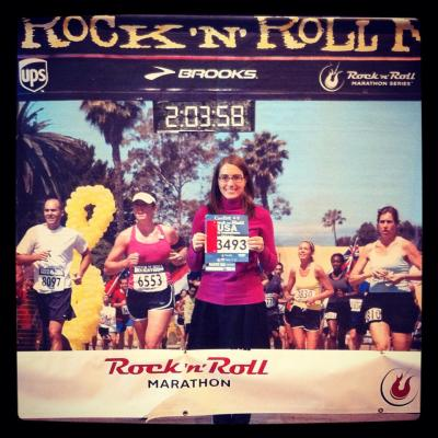 I'm ready to rock my second half marathon this weekend!