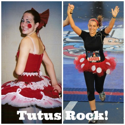 My #tutusrock post that I shared on Facebook, Twitter, and Instagram (WDW10k Photo Credit: MarathonFoto)