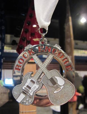 Ill receive my Rock Encore medal in the mail as a reward for completing both Rock n Roll USA and Rock n R