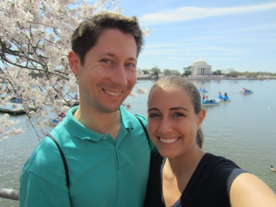 At the Tidal Basin on Saturday enjoying the absolutely gorgeous weather and scenery