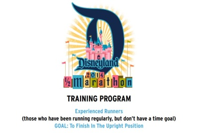 "If I can't train to run at Disney, then using a ""Disney"" training plan is one of the next best things :)"