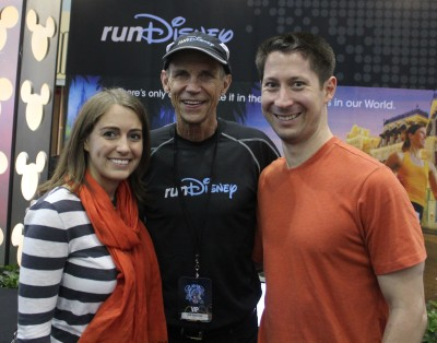 Preston and I got to meet Jeff Galloway at the Disney World Marathon Weekend expo back in January