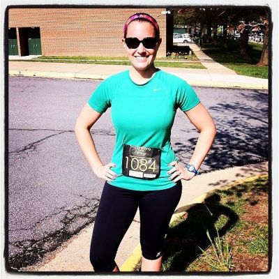 I ran this year's Jaguar 5k in 31:40, 44 seconds faster than last year!