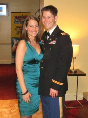 Preston and I at a military ball in January 2011