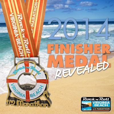 I cannot wait to earn this beautiful beach themed medal at the end of my third half marathon!