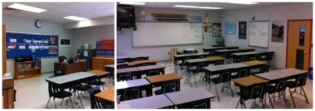 Was it really just ten months ago that my classroom was ready to welcome students for the 2013-2014 school year?