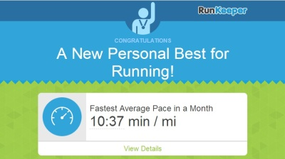 fastest monthly pace