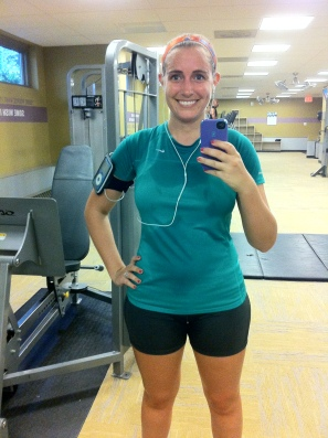 There's nothing like a good sweaty workout to help get you back into your training routine!