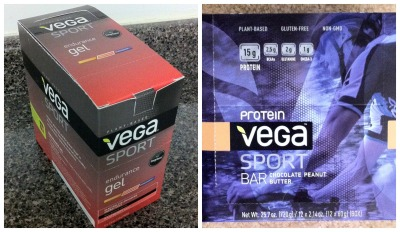 The winner will receive a sampling of both Vega Sport Endurance Gels in Raspberry and Vega Sport Protein Bars in Chocolate Peanut Butter to try out for themselves