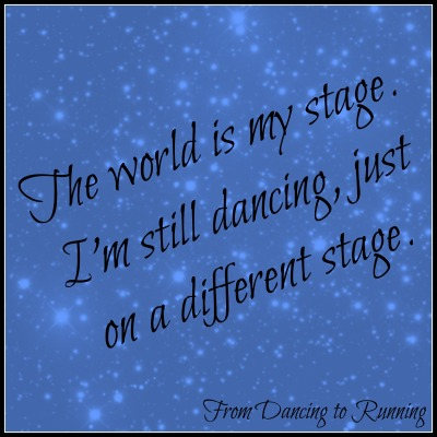 world is my stage