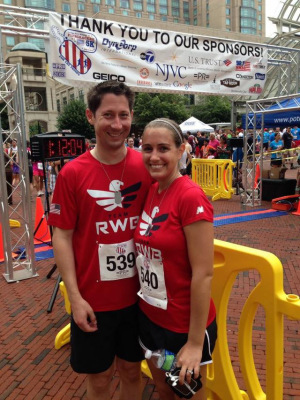At last year's Firecracker 5k