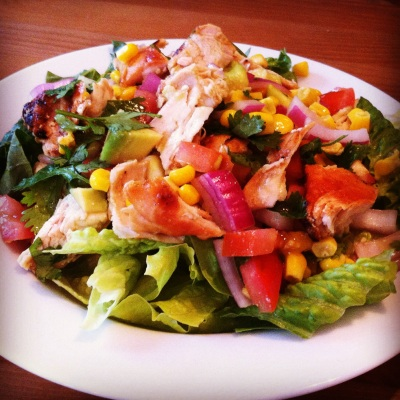 lime fiesta chicken salad