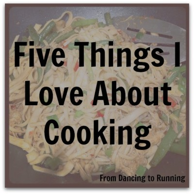 love about cooking