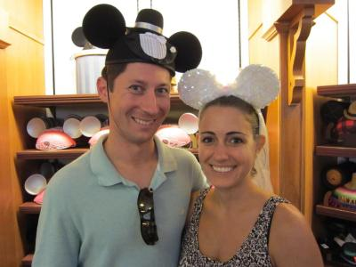 We joined my in-laws on a trip to Disney World a month after we got married