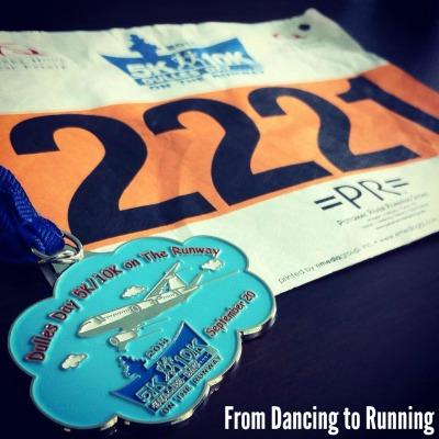 dulles day 10k medal