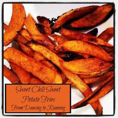 sweet chili sweet potato fries