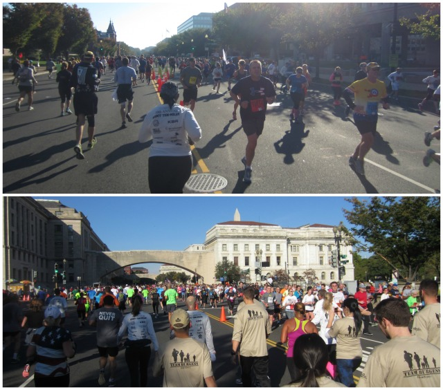 The energy running along  Independence Avenue was absolutely amazing!