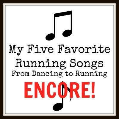 running songs encore