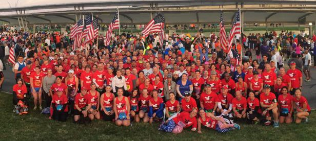 Team RWB Eagles ready to soar through the race