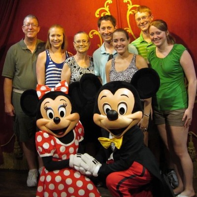 During our last trip to Disney World with my in-laws in September 2011