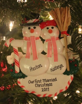 One of my favorite Christmas ornaments