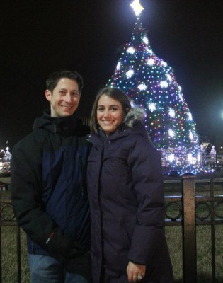 Seeing the National Christmas Tree in 2011