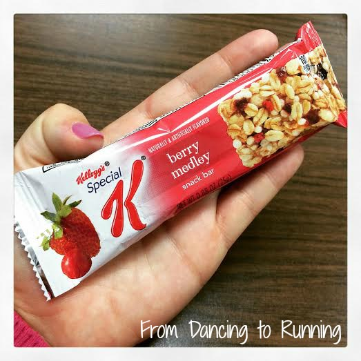 Special K Snack Bars Review   From Dancing to Running