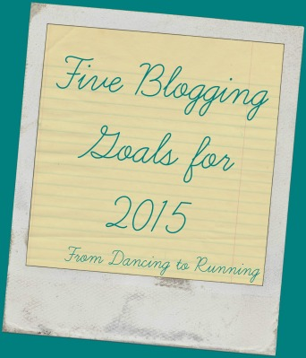 I'll reflect more fully on my 2015 blogging goals in a separate post, and although I've reached some of my goals some of them are just not going to happen this year
