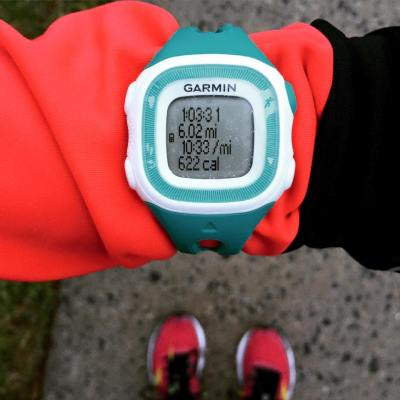 first garmin run