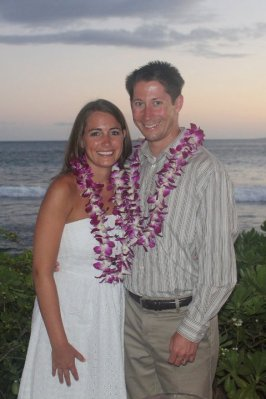 In Maui during our honeymoon in August 2011