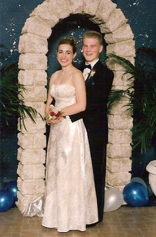 Jon and I at our Junior Prom
